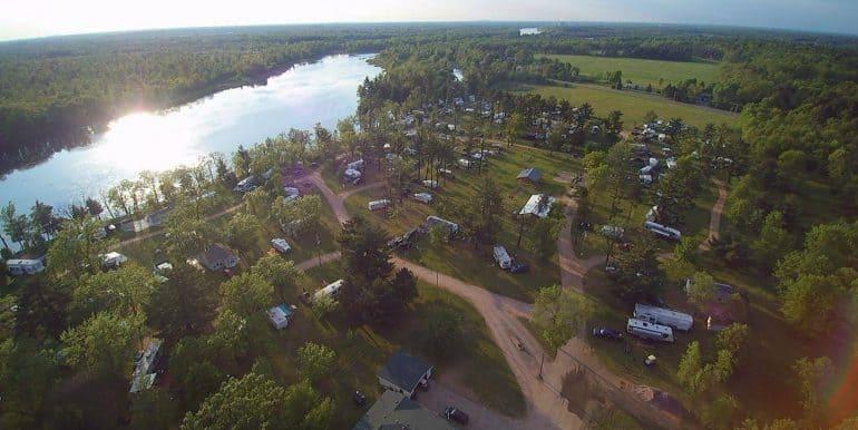 Aerial View of Deer Trail Park