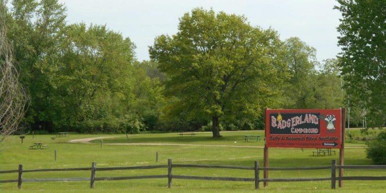 Badgerland Sign