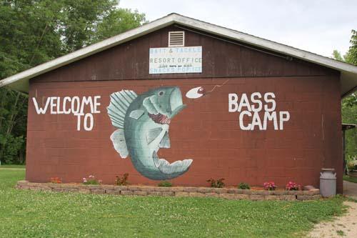 Bass camp building