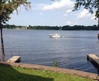 Cornell Lake dock 1