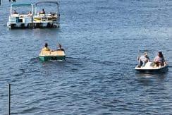 Cornell Lake fun