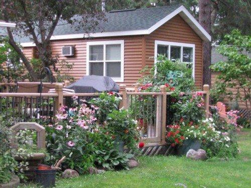 Dutch cabin outside