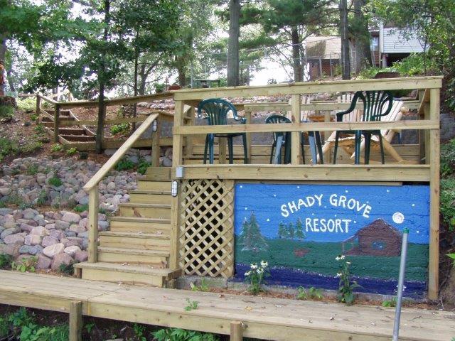 Shady Grove Resort, Chetek, WI