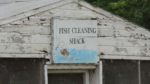 fish cleaning shack