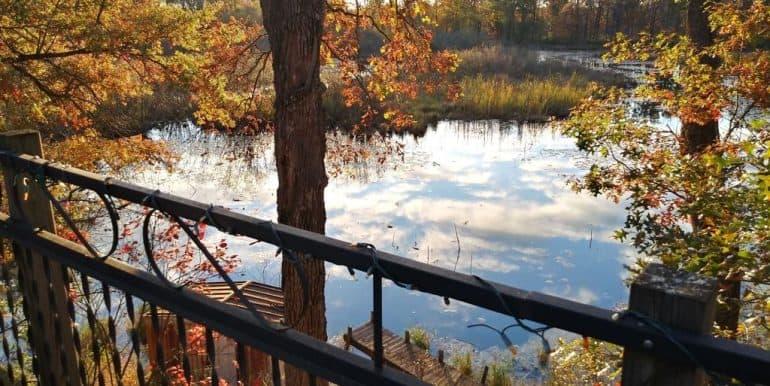 lake behind site 129
