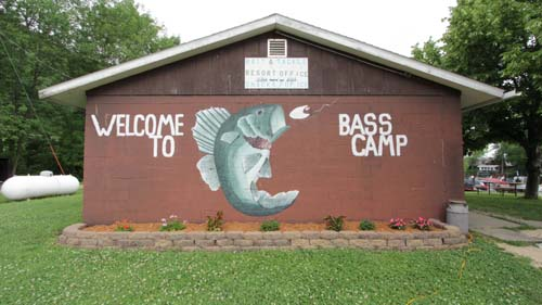 welcome to bass camp building